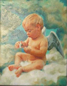 """Картина """"Ангелочек"""""""