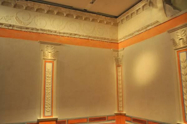 Пространственность и плоскостность в настенной живописи